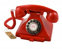 Classic Retro Telephone - Red