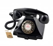 Classic Retro Telephone - Black