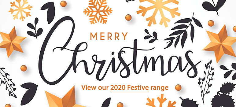 Merry Christmas - View our 2018 festival range